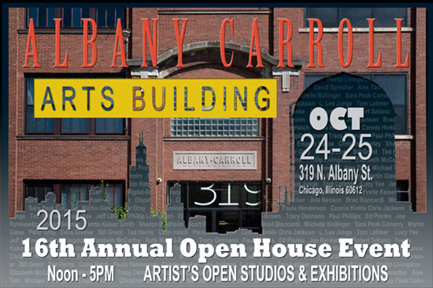 Albany Carroll Arts Building Open Studio